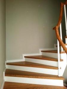 ahşap merdiven meşe 1