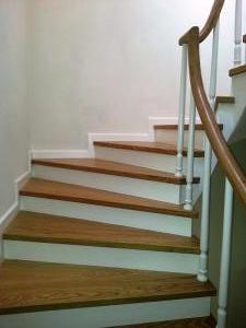 ahşap merdiven meşe 10