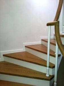 ahşap merdiven meşe 12