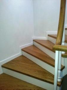 ahşap merdiven meşe 13