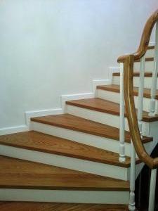 ahşap merdiven meşe 14