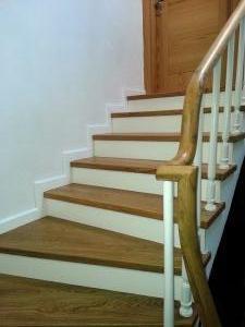ahşap merdiven meşe 15