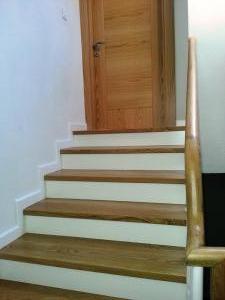 ahşap merdiven meşe 16