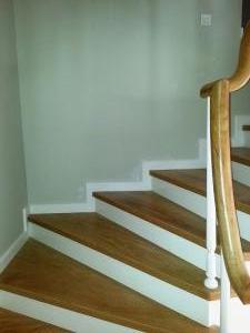 ahşap merdiven meşe 4
