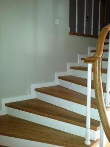 ahşap merdiven meşe 5
