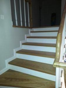ahşap merdiven meşe 6