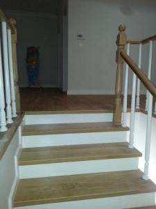 ahşap merdiven meşe 7