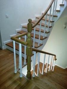 ahşap merdiven meşe 8