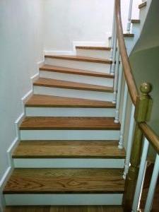ahşap merdiven meşe 9
