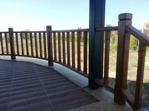 veranda korkuluk iroko